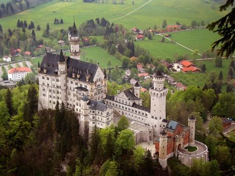 castilloalemania 460x345 Un castillo de sueños en Alemania