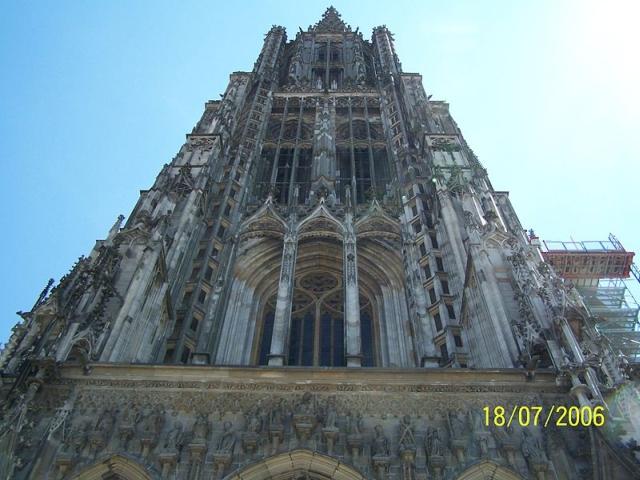 catedral Ulm La catedral más alta del mundo