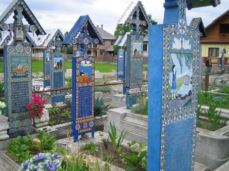 cem 460x345 El alegre cementerio de Sapanta