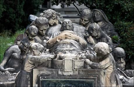 cementerio1 460x299 El cementerio de Staglieno, una auténtica galería de arte