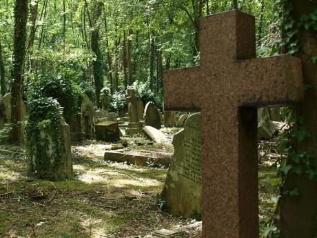 cementerio2 460x345 El cementerio de Highgate, un bosque de ilustres tumbas