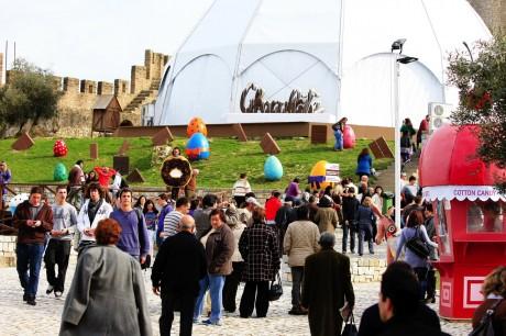 choco1 460x306 Chocolate por doquier en Óbidos