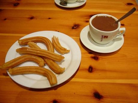 churros 460x345 Los churros: el mejor desayuno posible