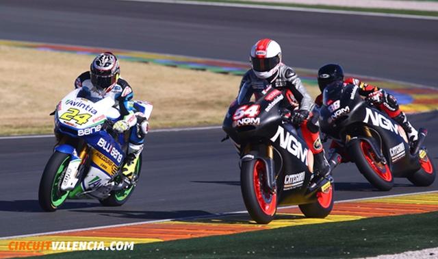 circuito ricardo tormo Valencia y las motos