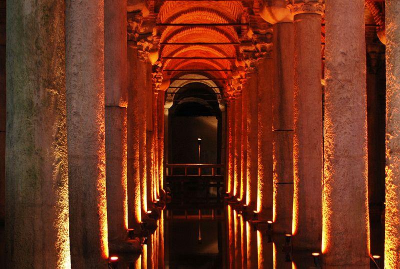 cisterna basílica La Cisterna Basílica, el mayor depósito de agua de Estambul