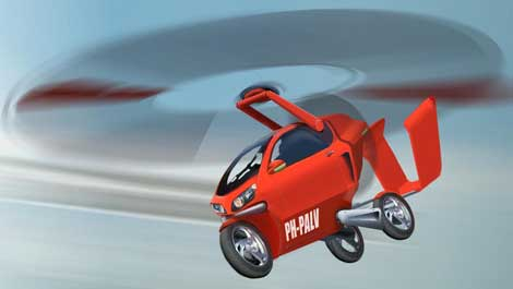 coche volador palv aire El Coche volador, PAL V