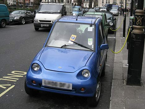 coches electricos londres Servicio Público de Alquiler de Coches Eléctricos en Londres