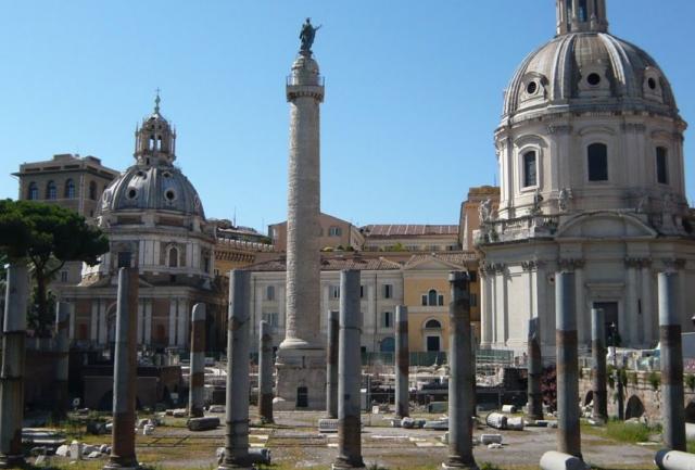 columna de trajano La Columna de Trajano