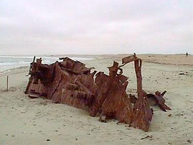 costa La Costa de los Esqueletos, zona virgen en Namibia