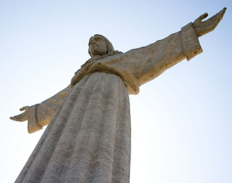 cristorey1 460x362 El Cristo Rey: un mirador sobre Lisboa