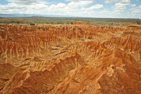 desierto 460x307 El Desierto de la Tatacoa: ¿un antiguo jardín?