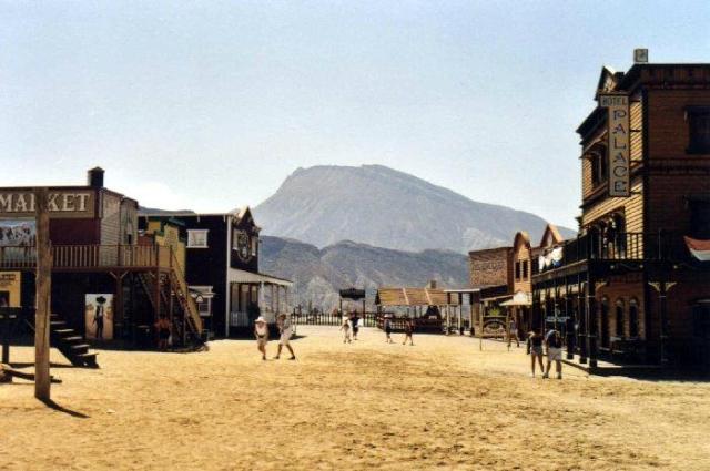 desierto de las tabernas El Far West en Almería