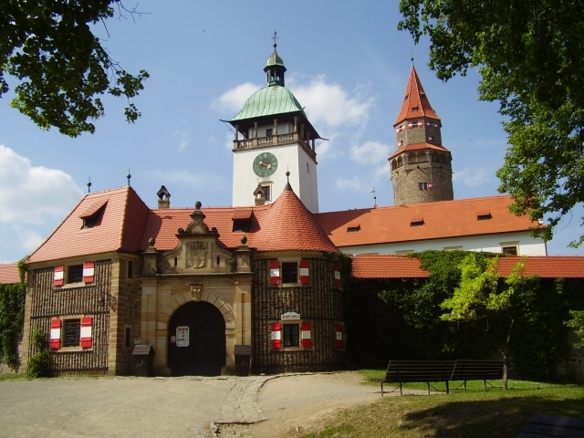 el Castillo de Bouzov Conoce el Castillo de Bouzov