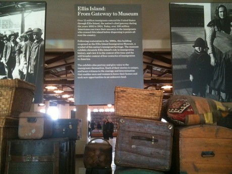 ellis island 460x345 La Isla de Ellis y su Museo de la Inmigración