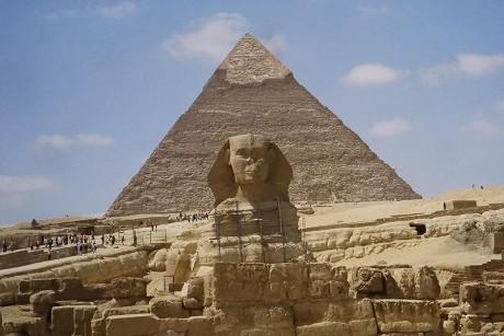 esfinge 460x307 Una Gran Esfinge egipcia