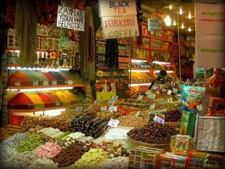 especias 460x345 El Bazar de las Especias de Estambul