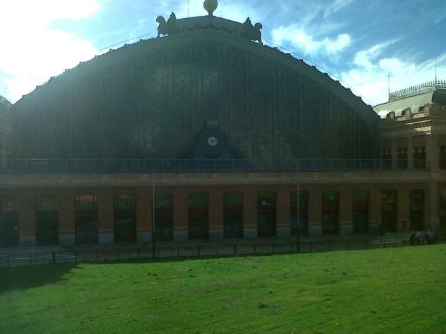 estacion de atocha La estación de Atocha. Algo más que una estación de tren