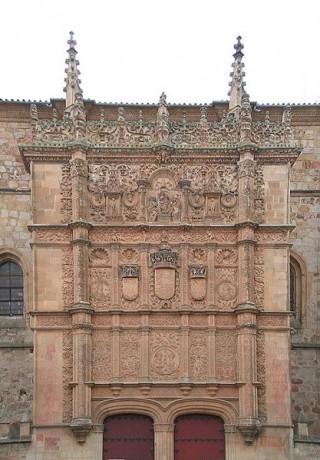 fachada 320x460 La rana de la Universidad de Salamanca