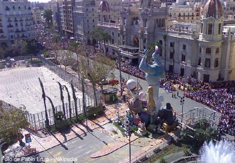 fallas de valencia Fallas de Valencia, unas fiestas muy populares
