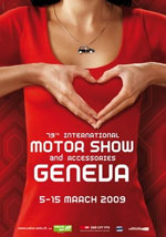 feria motor show ginebra ge Se acerca el Salón del Automóvil de Ginebra 2009