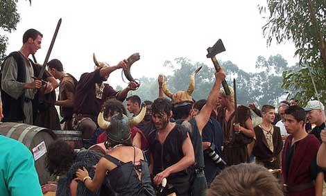 festa vikinga catoira La Mejor Fiesta de España