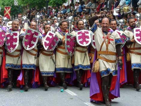 fiesta moros cristianos alcoy Fiestas de Moros y Cristianos en Alcoy, Alicante