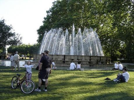 fuente5 460x345 Isla Margarita, el parque más grande de Budapest