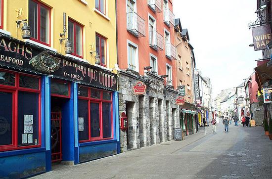 galway irlanda Ruta en coche por Irlanda