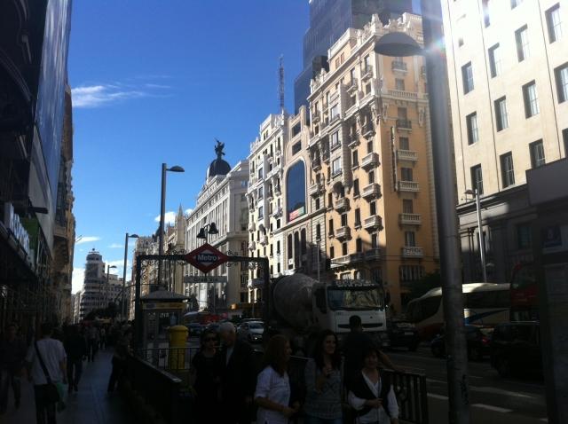 gran via de madrid La Gran Vía de Madrid