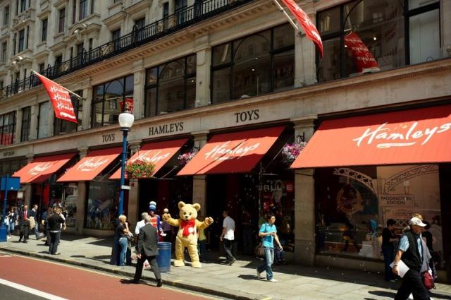hamleys Los juguetes en Londres se llaman Hamleys