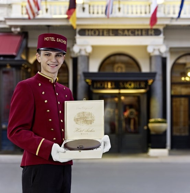hotel sacher La tarta Sacher y el hotel Sacher