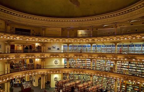 interior 460x295 El Ateneo Grand Splendid, la segunda librería más bella del mundo