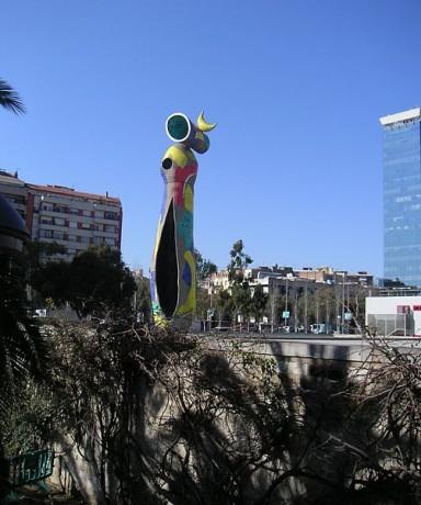 joan 384x460 El Parque de Joan Miró en Barcelona