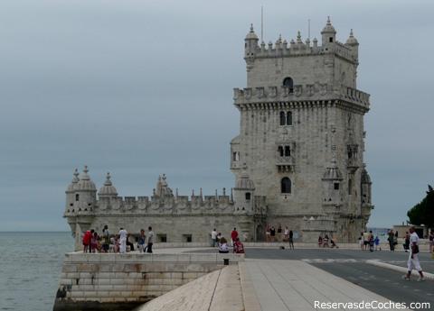 lisboa torre belem portugal La torre de Belém de Lisboa