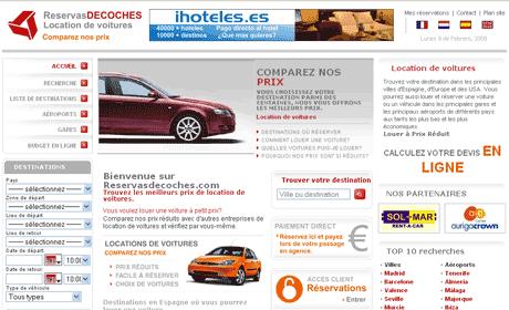 location de voitures fr1 Location de voitures, Reservasdecoches.com en frances