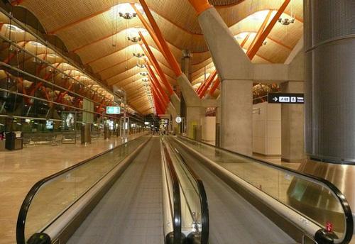 madrid aeropuerto terminal 4 La jungla de los aeropuertos
