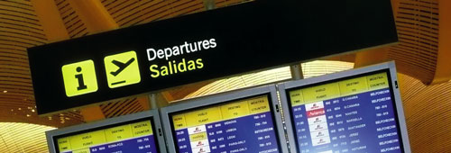 madrid senal salidas Derechos ante el retraso de un vuelo