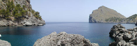 mallorca bahia sa calobra Mallorca, mucho más que sol y playa
