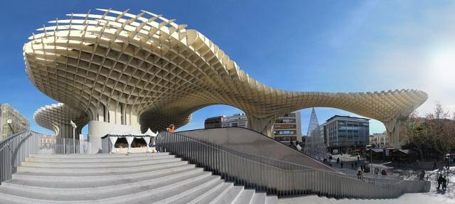 metrosol parasol Conoce las setas del Metropol Parasol de Sevilla