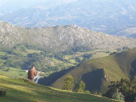 mirador2 460x346 Contemplar Asturias desde el Mirador del Fito