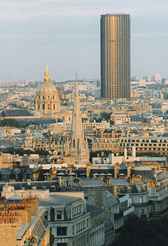 mompar Los 210 metros de la Torre Montparnasse