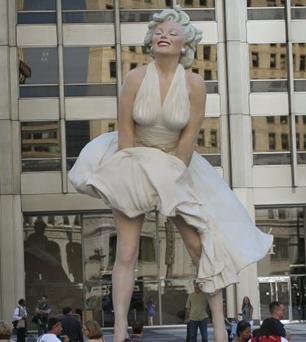 monroe Marilyn Monroe, a lo grande