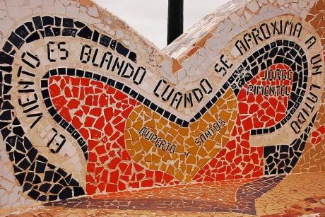 mosaico 460x307 El Parque del Amor, romanticismo con vistas al océano
