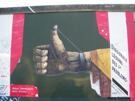 muro 2 460x345 East Side Gallery, el arte del muro de Berlín