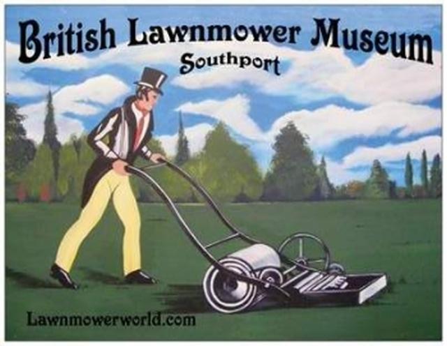 museo británico de cortadores de cesped El museo británico de cortadores de cesped