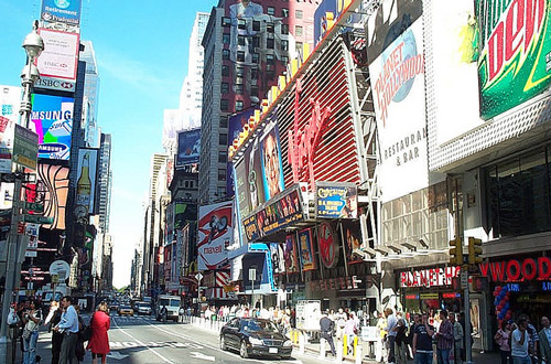 nueva york times square Nueva York, la ciudad donde todo es posible