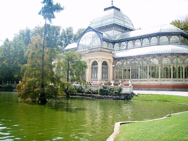 palacio de cristal madrid El palacio de cristal de El Retiro