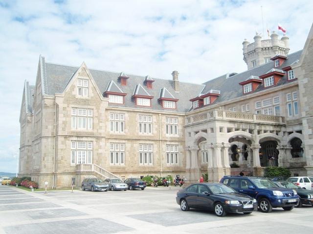 palacio de la magdalena El Palacio de la Magdalena en Santander