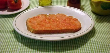 pan 460x224 La surtida gastronomía española