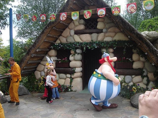 parque asterix Astérix en París